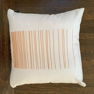 Pillow (Gold and White)